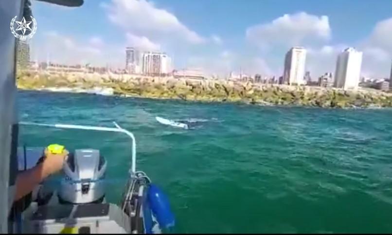 Dramatische Rettung vor dem Strand von Hezrliya [Video]