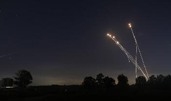 Iron-Dome-fngt-Rakete-aus-dem-Gazastreifen-ab