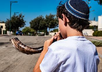 JerusalemMufti-Muslime-emprt-ber-Schofar-auf-dem-Tempelberg