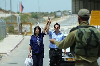 Palstinensische-Abgeordnete-Khalida-Jarrar-aus-israelischem-Gefngnis-entlassen