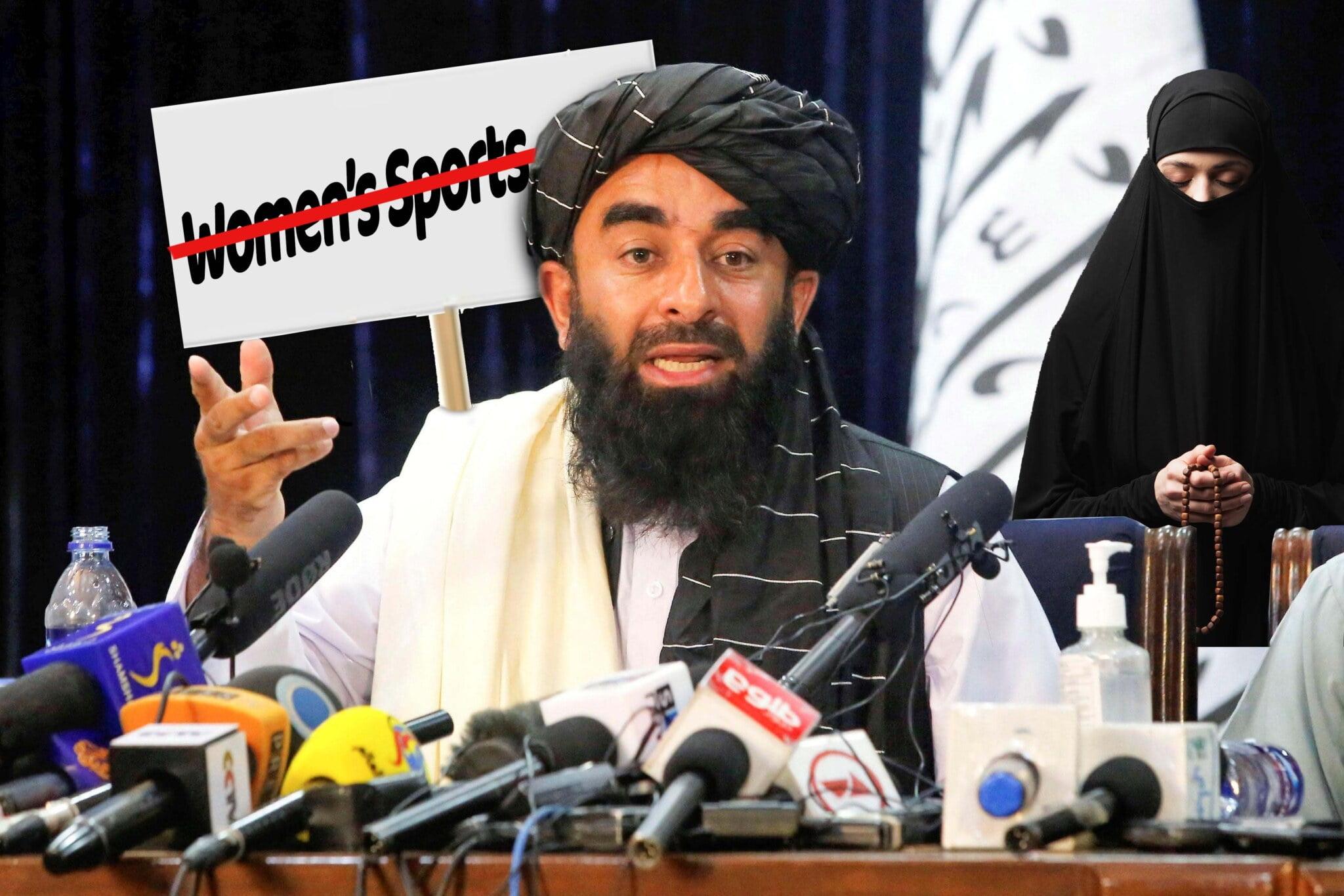 Gleichberechtigung: Taliban verbieten biologische Männer und biologische Frauen die Teilnahme an Frauensport