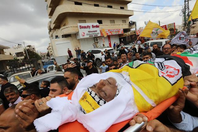 Palästinenser trauern um einen bösartigen Terroristen