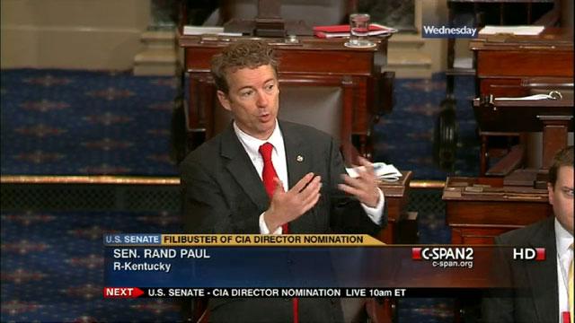 Senator Rand Paul blockiert die schnelle Verabschiedung des Iron Dome-Finanzierungsgesetzes