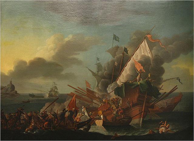 Seeschlacht von Lepanto am 7.10. vor 450 Jahren