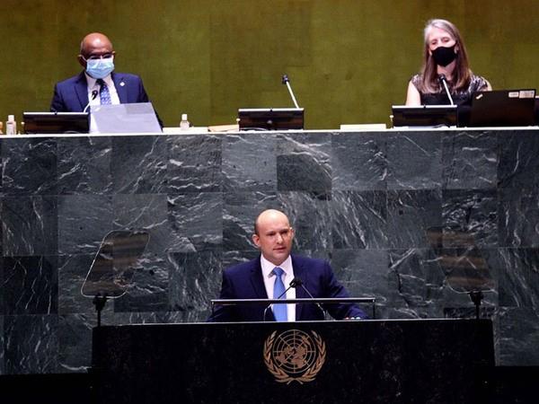 Premier Bennetts Rede vor den Vereinten Nationen