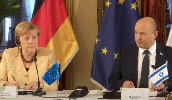 Angela-Merkel--ein-falscher-Freund-verabschiedet-sich-von-Israel