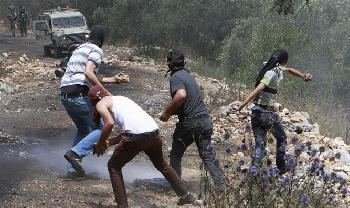 Zusammenste-zwischen-Arabern-und-Juden-in-Samaria