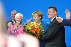 Merkel am Ende und am Anfang