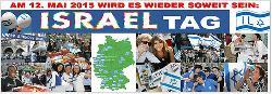 Bundesweiter Israel-Tag anlässlich