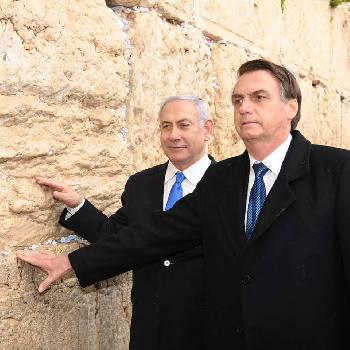 Brasiliens Präsident besucht Westmauer in Jerusalem [Video]