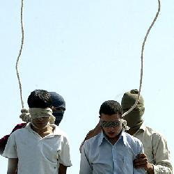 Gabriel unmittelbar vor dem Holocaust-Wettbewerb im Iran
