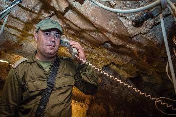 Blick in einen Terrortunnel der Hizbollah  [Video]