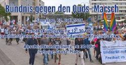 Breites Berliner Bündnis demonstriert gegen Judenhass und Islamismus
