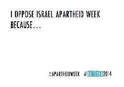 [Fotos&Video] Die 10 Top-Gründe gegen die Israel Apartheid Week zu sein