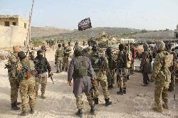 Türkische Armee unter IS-Fahne