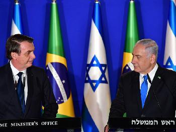 Brasiliens Präsident Bolsonaro in Israel