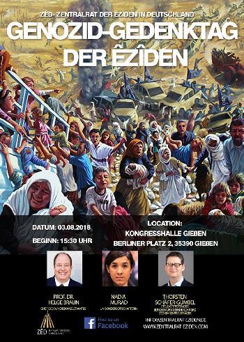 Der Völkermord an den Eziden darf nicht in Vergessenheit geraten [Video]