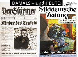 Deutsche Zeitung benutzt Nazi-Sprache um Israel für palästinensischen Terrorismus verantwortlich zu machen