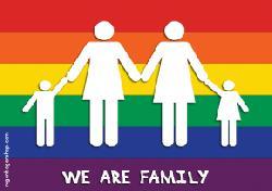 Am Sonntag ist Zweite Internationale Regenbogenfamilientag