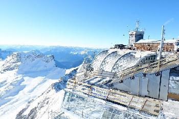 Schnee-Rekord auf der Zugspitze mitten im Juni!