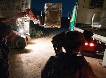 Nächtlicher humanitärer Sondereinsatz für `Gute Nachbarschaft´ [Video]