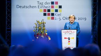 Rede von Bundeskanzlerin Merkel anlässlich des Festakts zum Tag der Deutschen Einheit