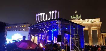 Berlin: Erste Chanukka-Kerze entzündet