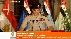 Militär jagd islamistischen Despoten aus dem Präsidentenamt