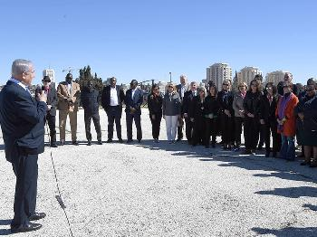 Ministerpräsident Netanyahu spricht zu UN-Botschaftern
