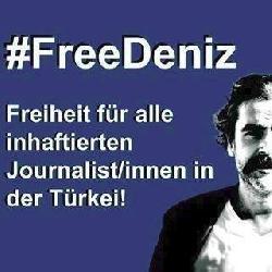 Mahn-Kundgebung: Freiheit für Deniz Yücel