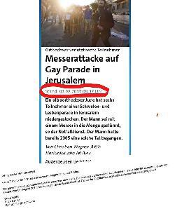 `Tagesschau´ schon wieder mit Fake News