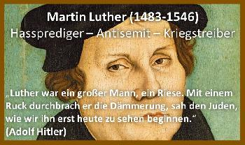Luther und die Juden in den Zeiten der untergehenden GroKo