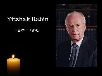 23. Todestag von Yitzhak Rabin