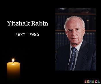 24. Todestag von Yitzhak Rabin