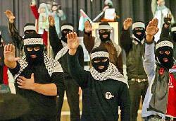 Hamas-Kader spricht auf Neo-Nazi-Demonstration