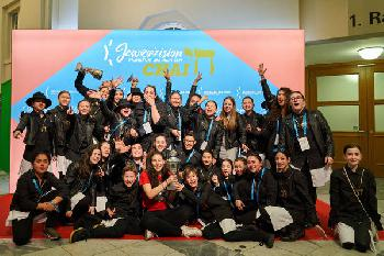 Berlin gewinnt die Jewrovision 2019 in Frankfurt am Main