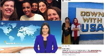 ´Down with USA´: ZDF-Journalistin Aline Abboud sendet skandalöse Urlaubsgrüße in die Heimat