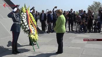 Bundeskanzlerin Merkel in Armenien
