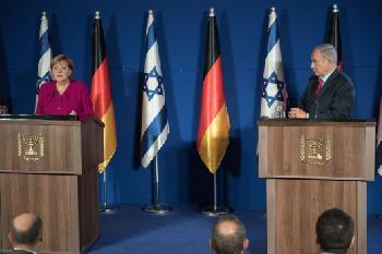 Merkel in Israel: Dolmetscherin flucht, Kanzlerin irritiert