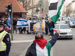 Pro-palästinensische Kundgebung entgleist antisemitisch und NS-verherrlichend