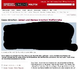7. Goldener Orwell für Spiegel online