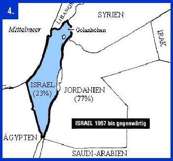 `Israelische Souveränität über Judäa und SWamaria mit US-Unterstützung´