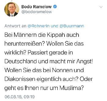 Bodo Ramelow antwortet und antwortet doch nicht