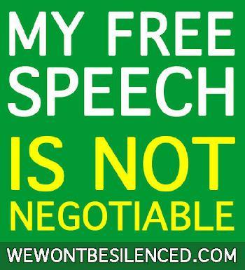 In Deutschland ist die Meinungsfreiheit gefährdet