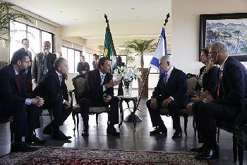 Netanyahu euphorisch in Brasilien gefeiert: `Wir sind Brüder!´ [Videos]