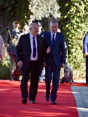 Österreichischer Bundespräsident in Israel