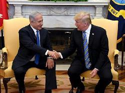 Premierminister Netanyahu trifft in Washington mit US-Präsident Trump zusammen