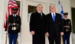 Pence danke Netanyahu für Israels Unterstützung