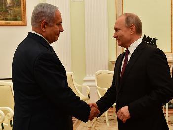 Premierminister Netanyahu trifft Präsident Putin