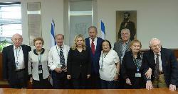 Netanjahu empfängt sechs Holocaust-Überlebende